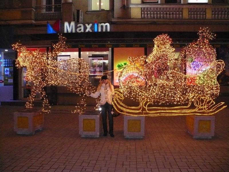 Золотые сани Деда мороза :-)